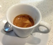 A perfect pour of Milano espresso