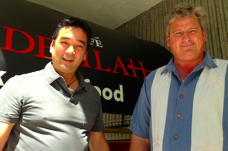Chef Daryle Nagata and fisher Paul Puratich plan to breathe new life into the celebrated West End room