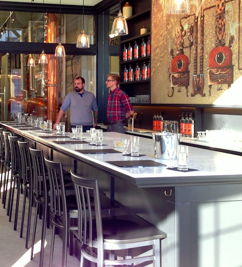 Craft distilling blossoms: Odd Society's smart Powell St. tasting bar