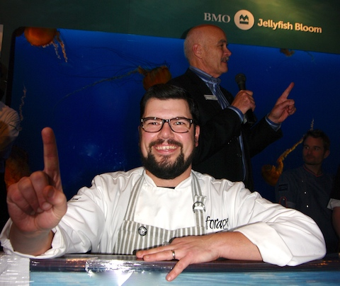 Forage chef Chris Whittaker wins Chowder Chowdown, vancouver