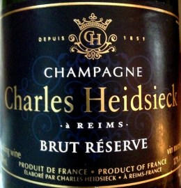 Bubbles_Champagne Charles Heidsieck