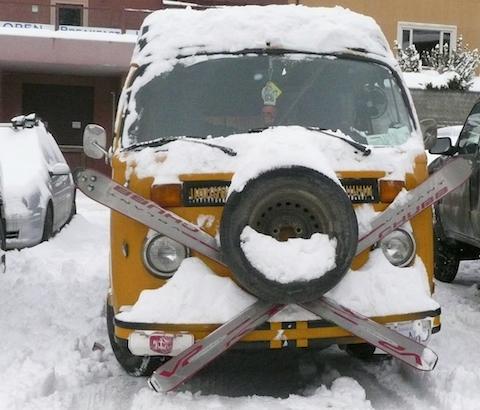 ...The ultimate ski machine!