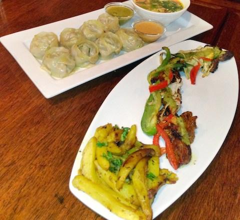 Yak & Yeti Momos and Lam Kebab