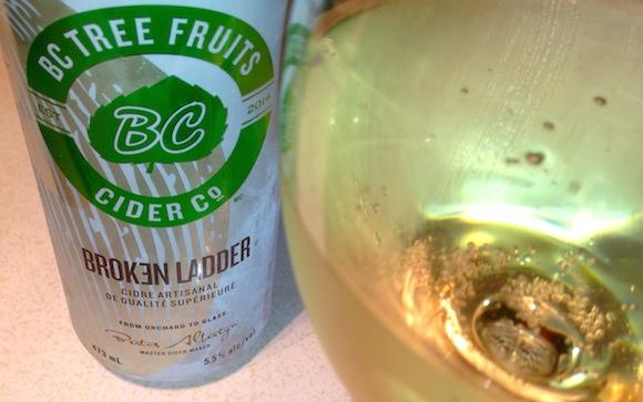Cider newbie BC Tree Fruits Broken Ladder