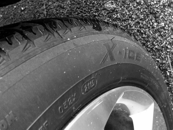 Michelin Ice winter tires also performed well