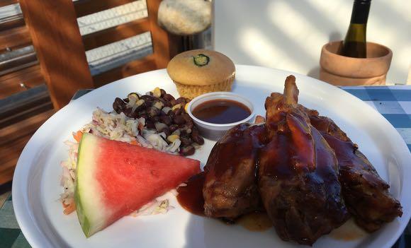 Pig's 'wings' at Smoke & Oak