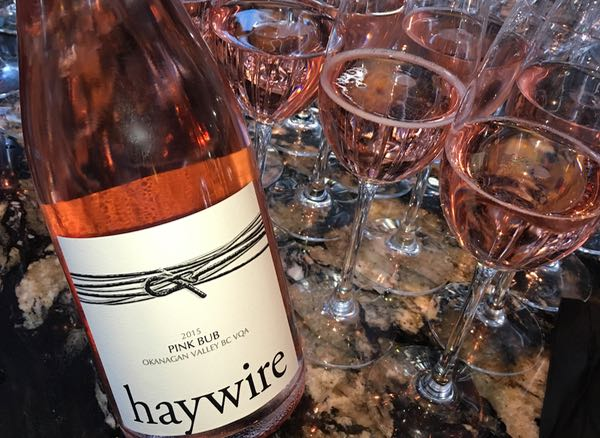 Haywire Pink Bub at Wine Festival