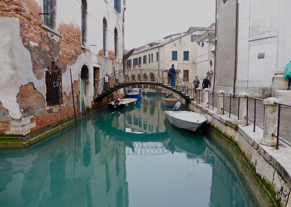 Venice stucco and canal