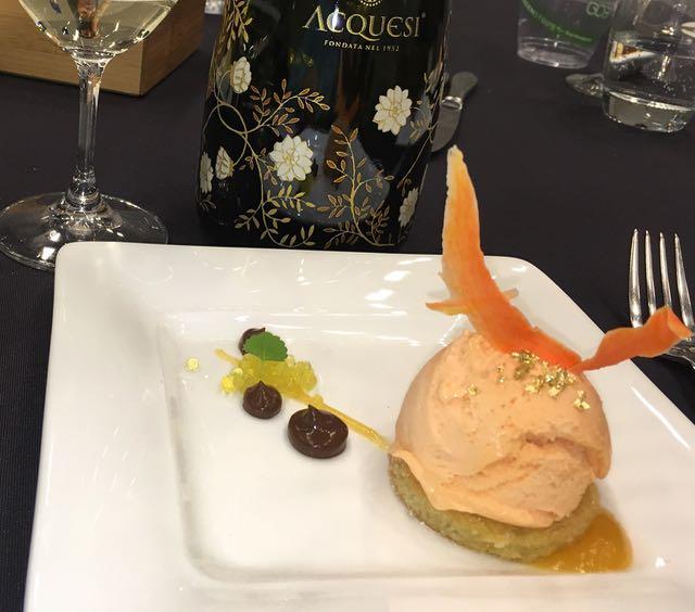 D'Oro Gelato award winning dessert at VIWF Vintners Brunch
