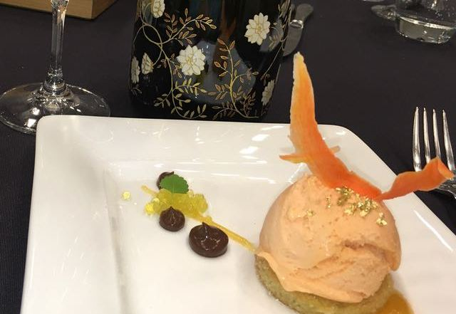 D'Oro Gelato award winning dessert at VIWF Vintners Brunch