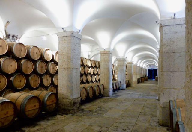Interior of the Villa Oeiras cellars
