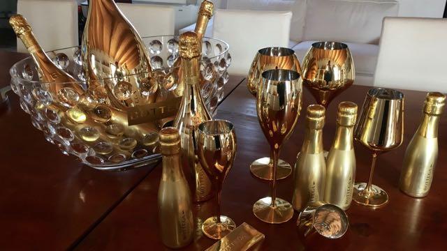 Bottega Gold range sparkling wines