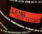Laughing Stock's unique stock ticker label has become one of BC's most recognized brands
