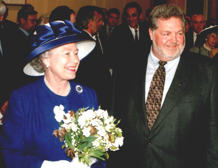 Her Majesty the Queen with Harry McWatters