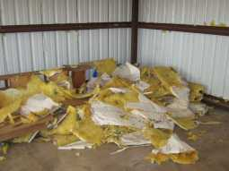 GSD Junk Hauling - Storage Shed Insulation - Pricing by Volume