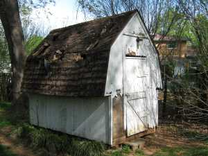 GSD Junk Hauling Demo'd and Removed this Shed from a customer's property so it could be put on the market.