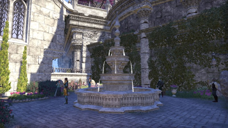 Fountain in the Kinlady's Courtyard