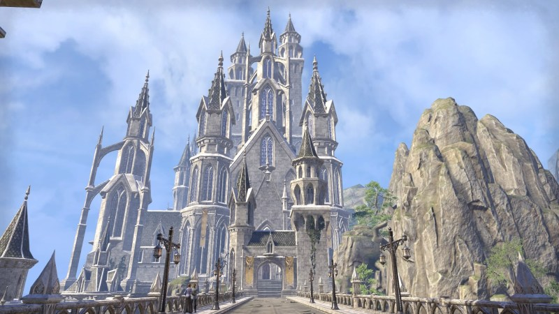 The Royal Palace in Alinor