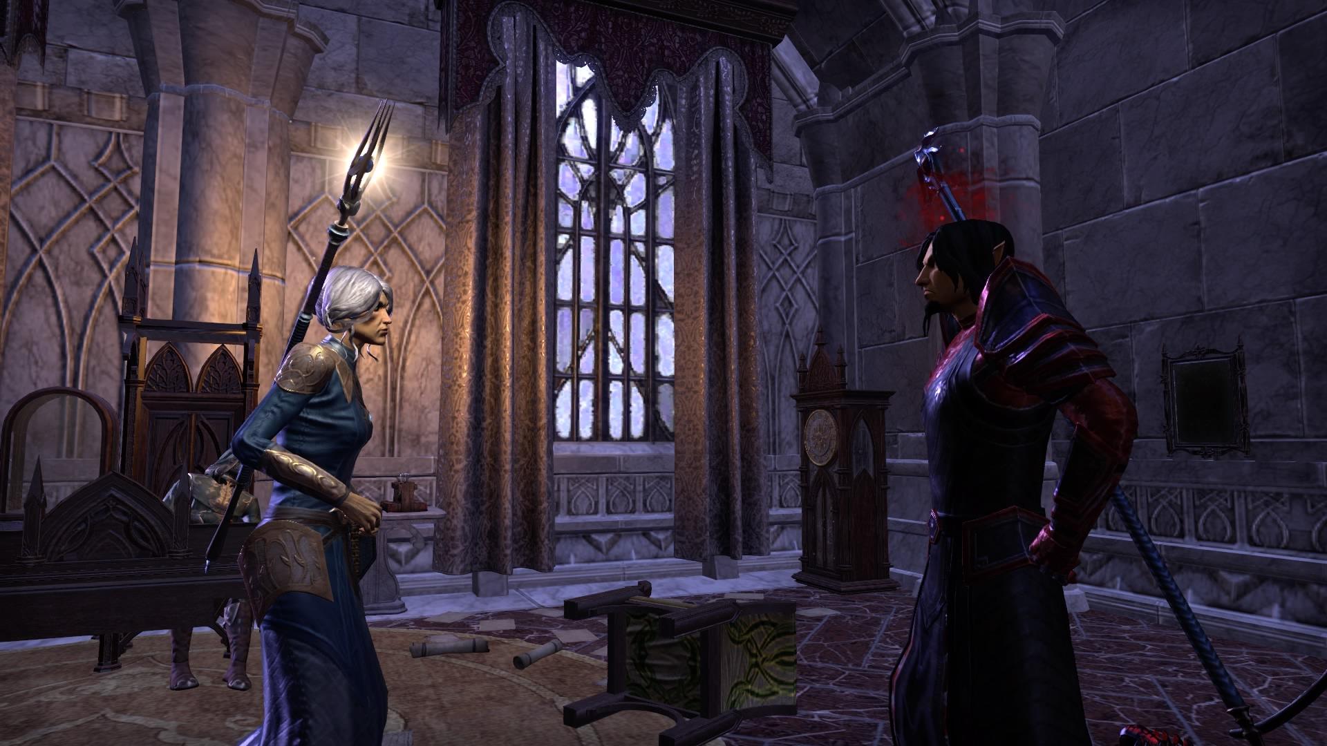 Valsirenn against her husband Leythen