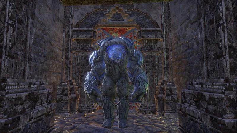 Stone husk guards the sanctuary