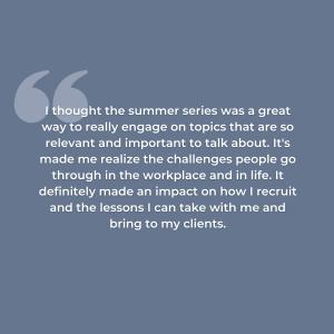 Lauren Ewers D&I Series Reflection Statement