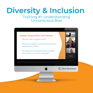 Our first virtual D&I training was on Understanding Unconscious Biases