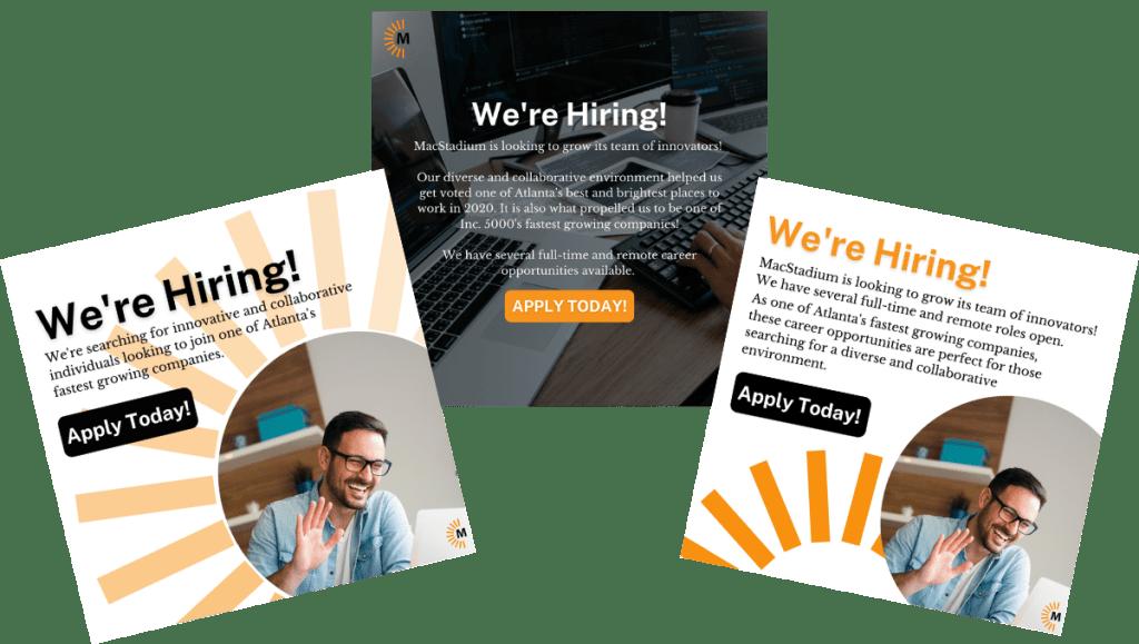 Target Recruitment Campaign