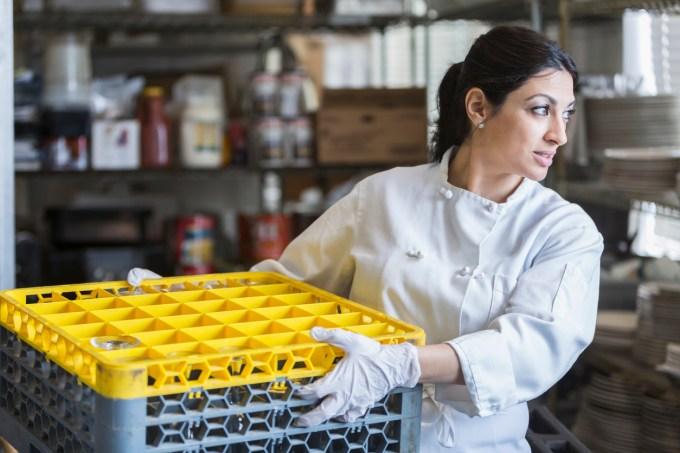Image result for dishwasher worker