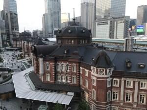 東京駅丸の内南口 KITTE屋上