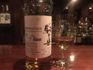 駒ヶ岳シングルカスク2014 武蔵屋オリジナルボトル