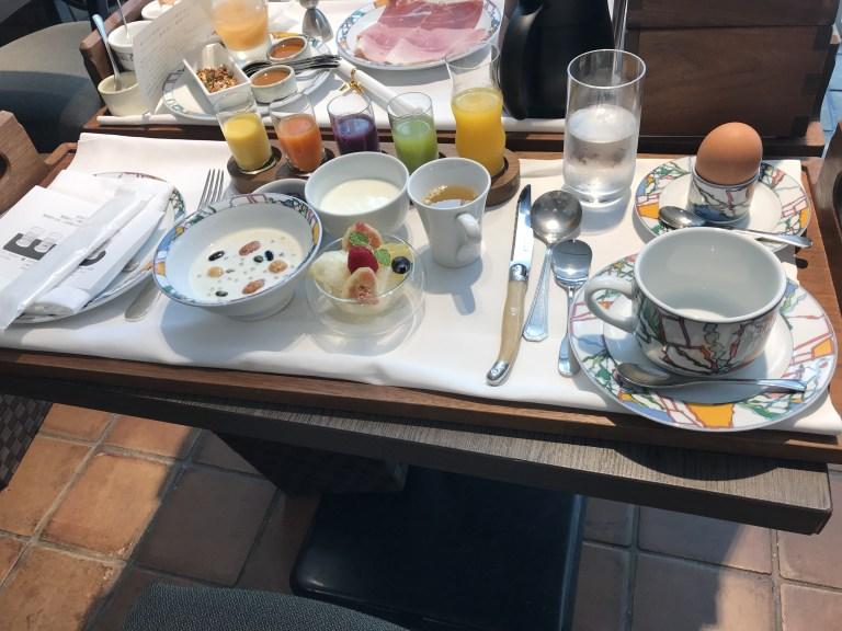 神戸北野ホテルの朝食