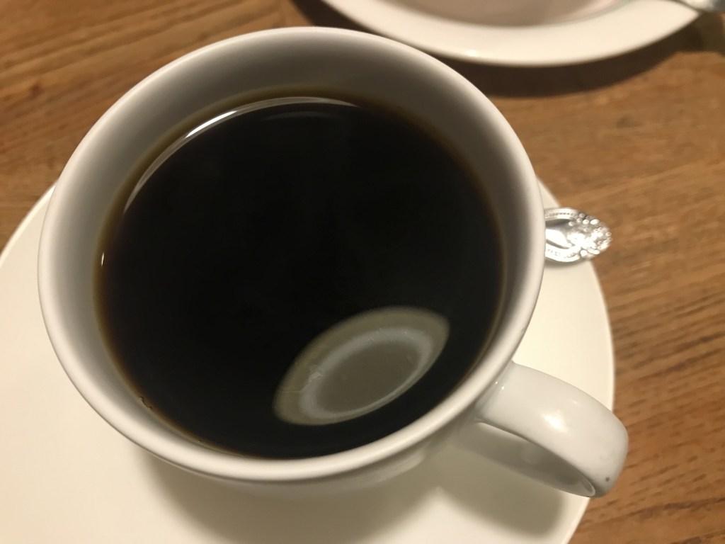 鶯谷「デン」のホットコーヒー
