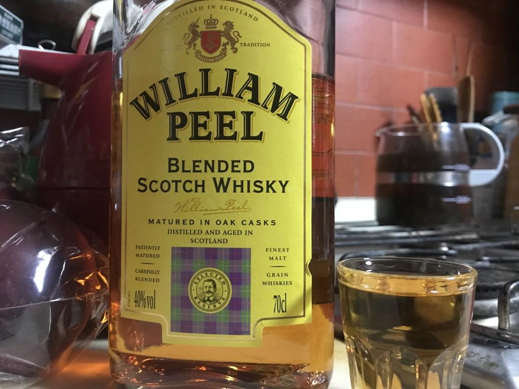 ブレンデッドスコッチのウィリアムピール
