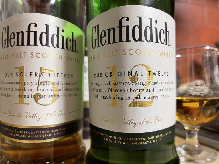 グレンフィディック12年と15年