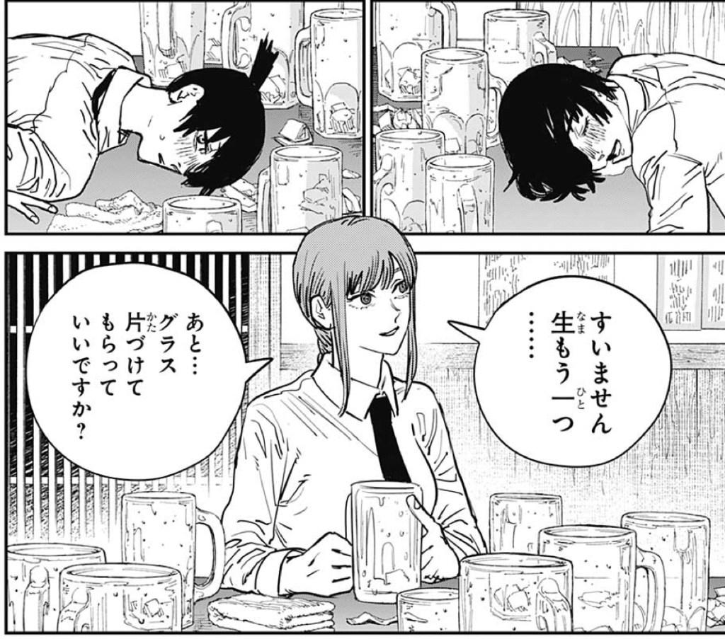 番外編:マキマの正体は酒豪!