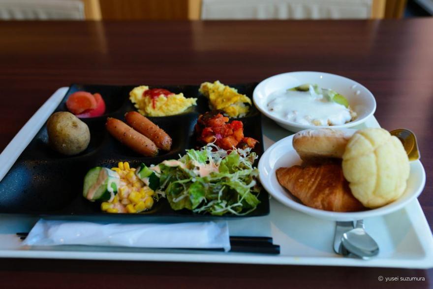 朝食 at 星野リゾート