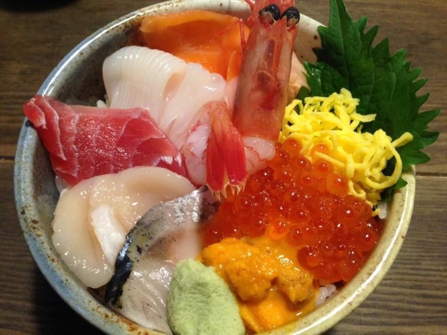 海鮮丼 新千歳
