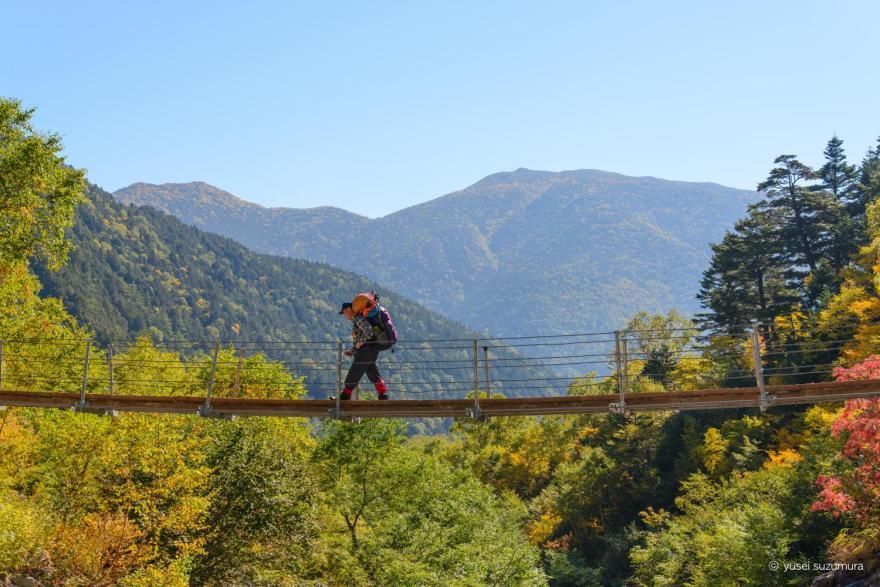 ぐるぐら揺れる本谷橋