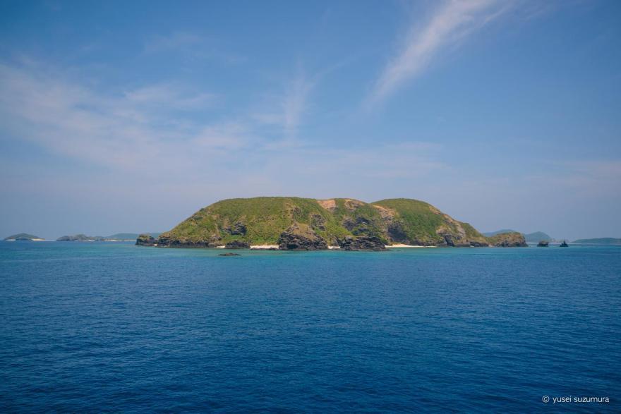 フェリーざまみから見る島々