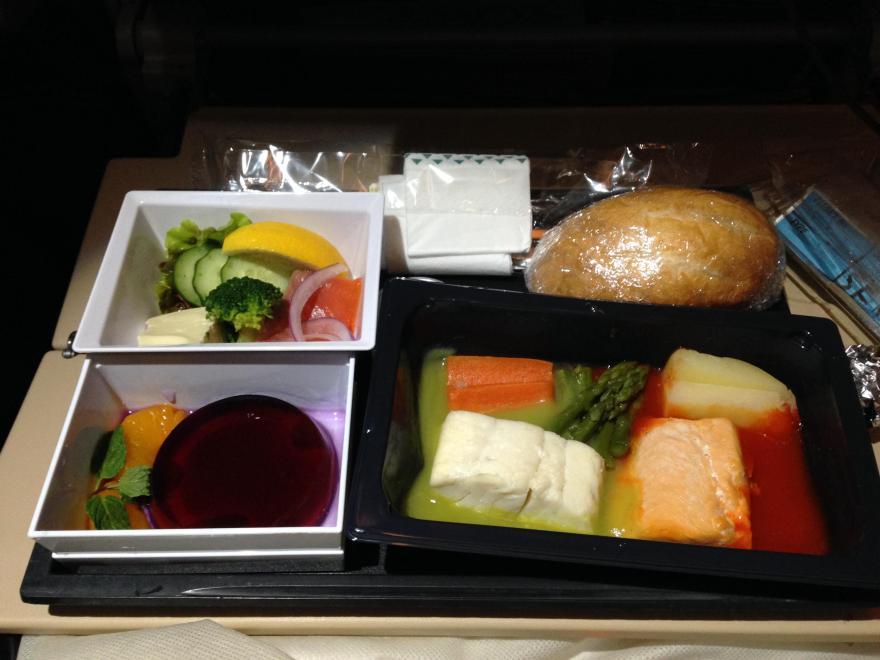 エディハド航空 機内食 ハラール
