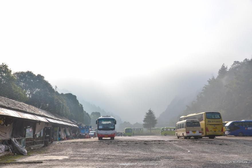 武陵源国家自然公園 曇っている