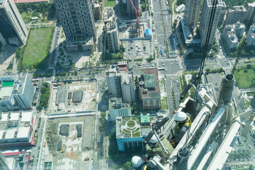 台北101 ビル清掃員