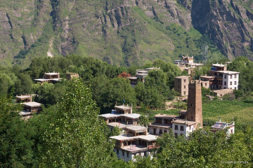 丹巴 最も美しい村