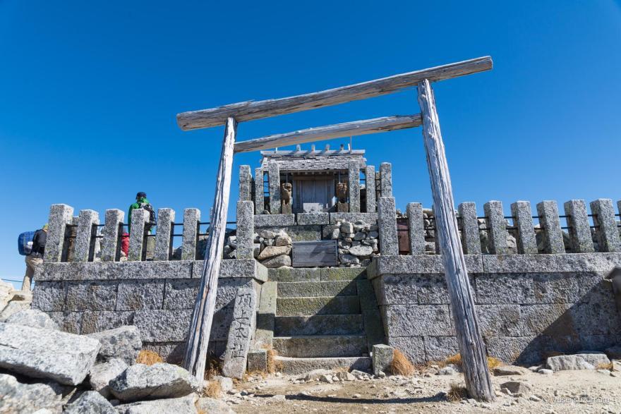 木曽駒ヶ岳 頂上