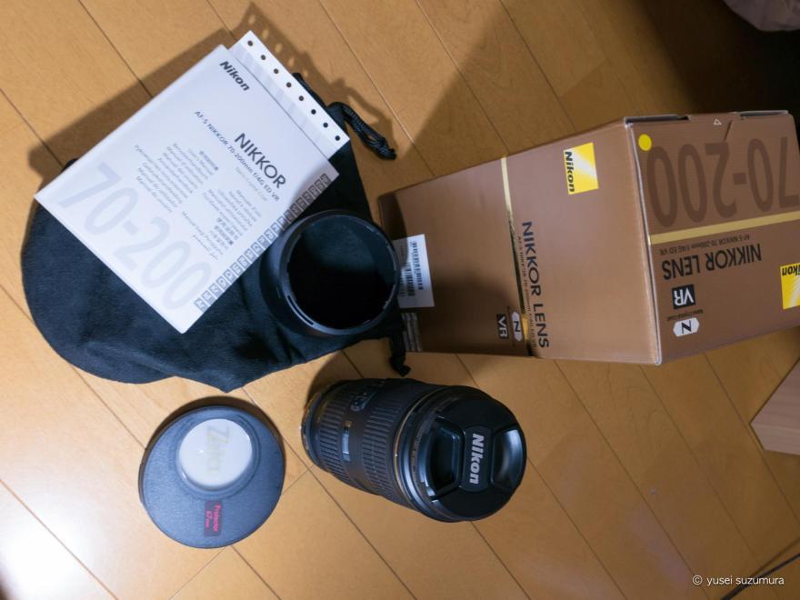AF-S NIKKOR 70-200mm f/4G ED VR 中身