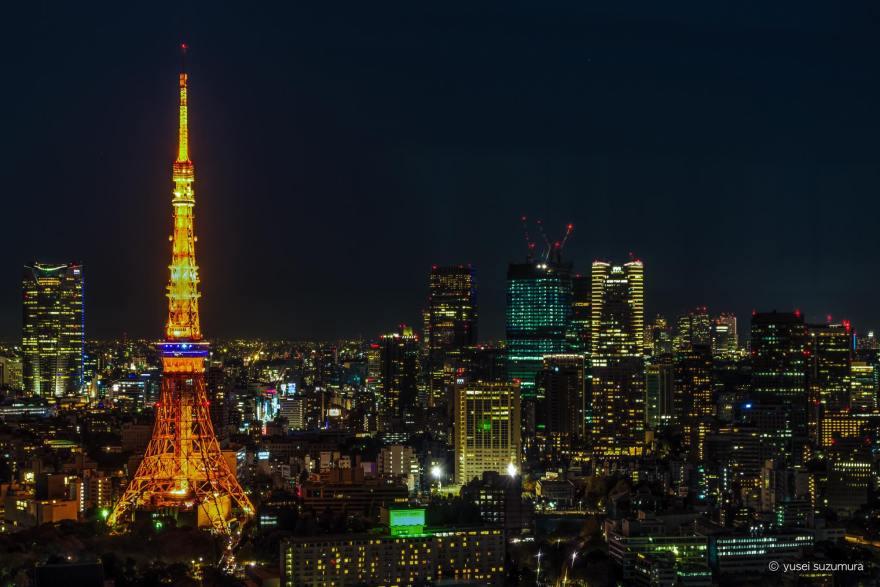 東京タワー 夜景撮影