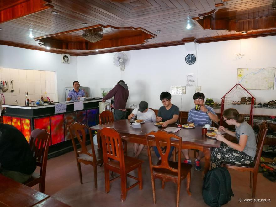 カマニー イン ゲストハウス 朝食