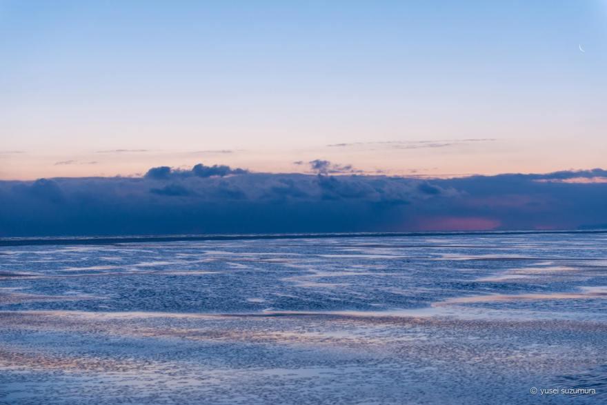 オホーツク海 氷泥