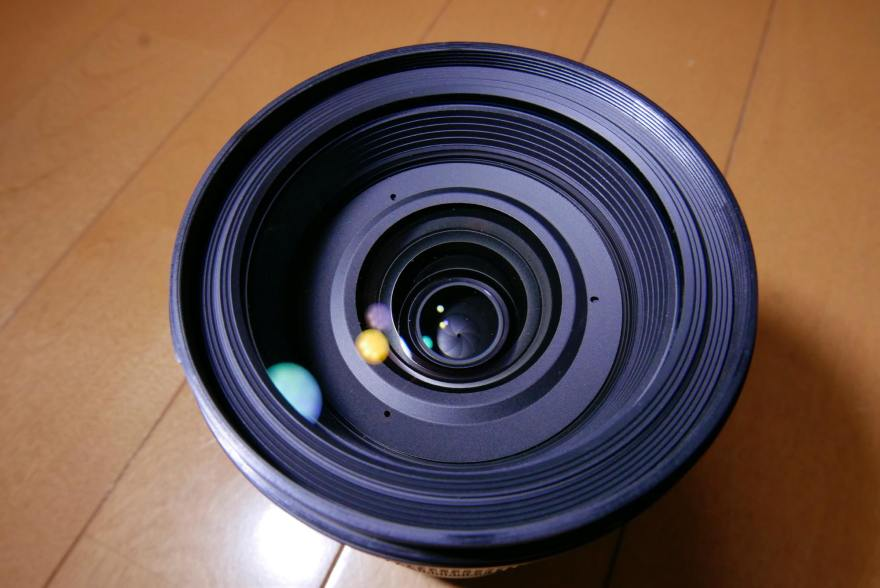 sigma 24-105mm art 口径食