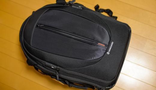 大容量カメラバックパック。Vanguard UP-Rise 48レビュー。